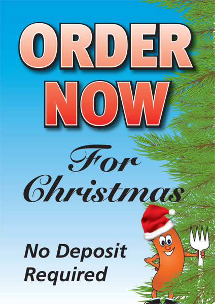 Order Now For Christmas