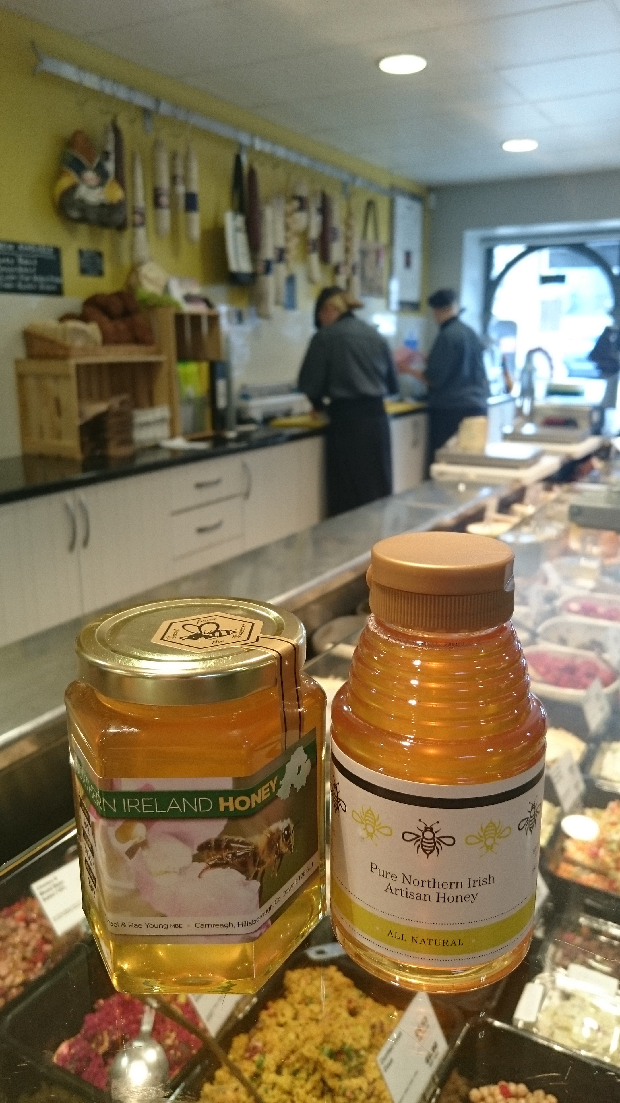 Local Honey available at McCartney's of Moira
