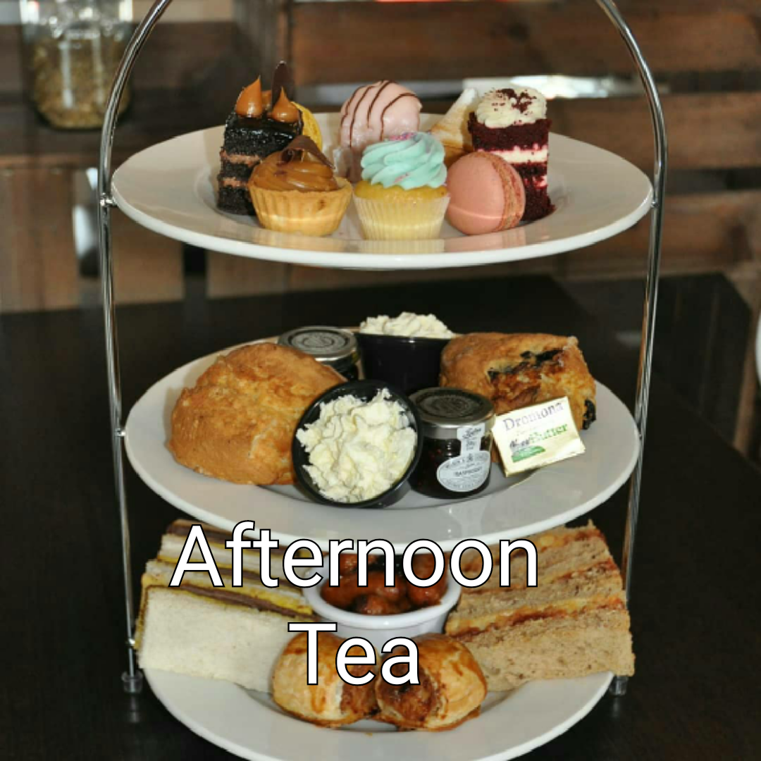 Click here for our afternoon tea menu
