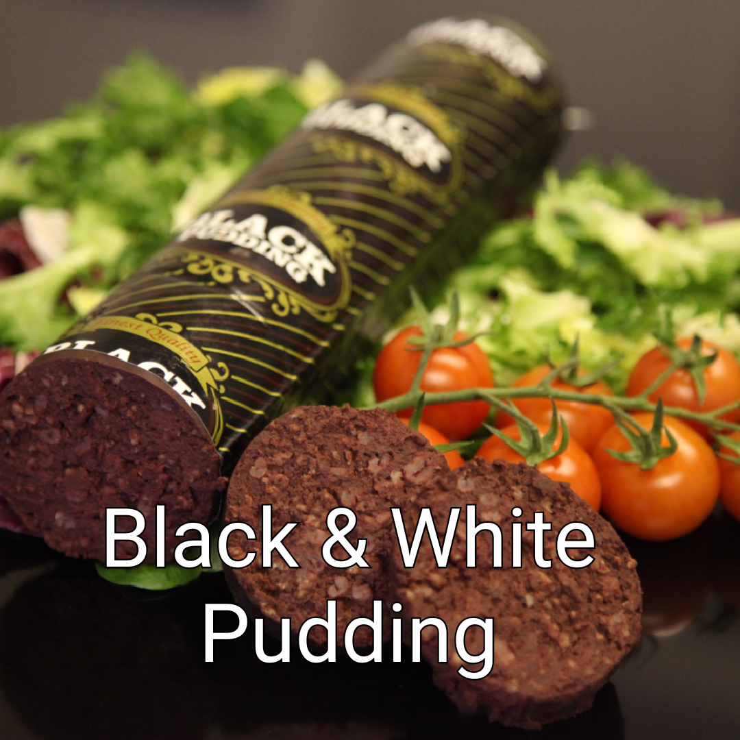 Click here for our black & white puddings