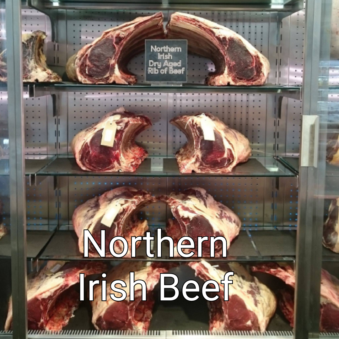 Click here for our dry aged northern irish beef