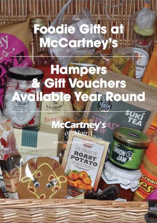 Food Gift Hampers from McCartney's of Moira
