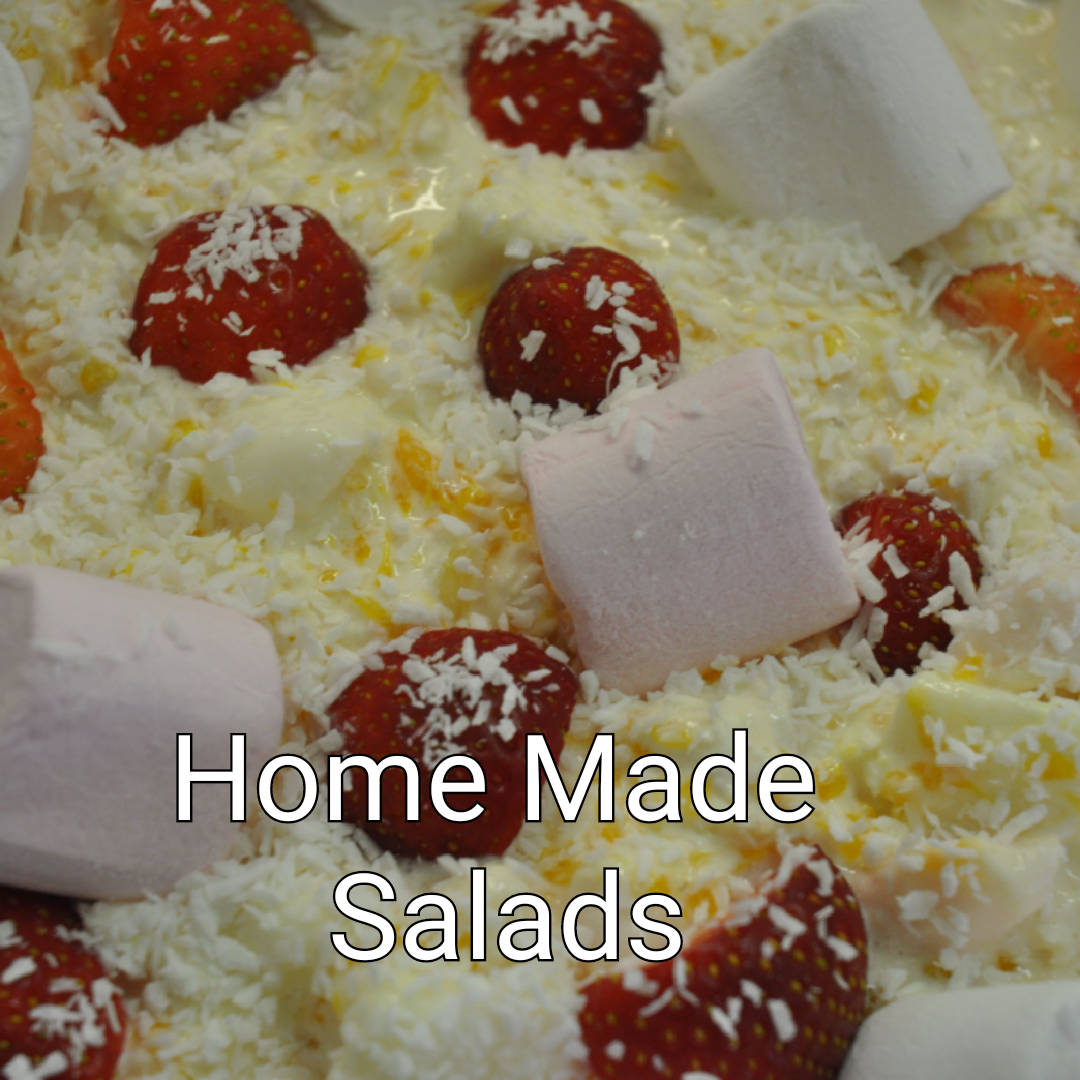 Click here for our homemade salads