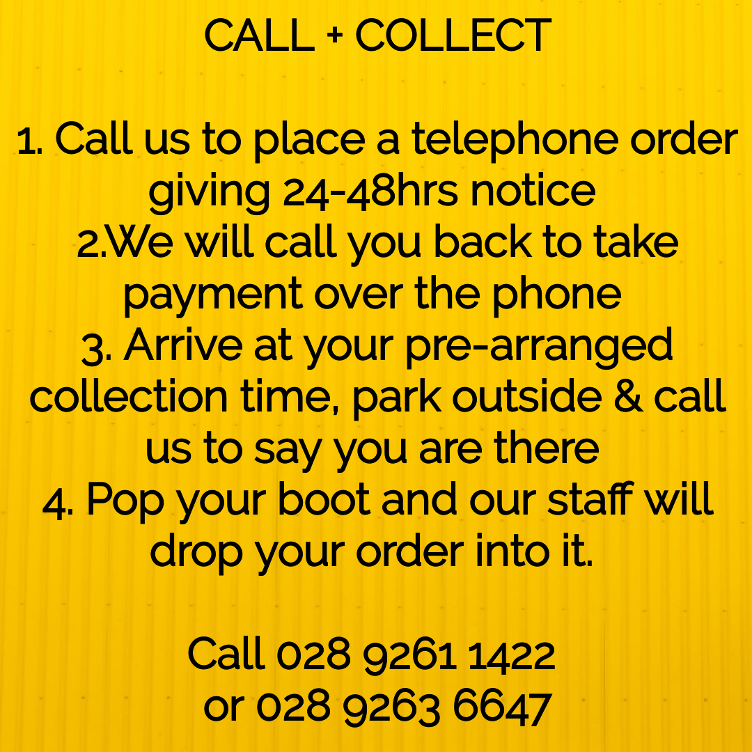 Call & Collect @ McCartney's