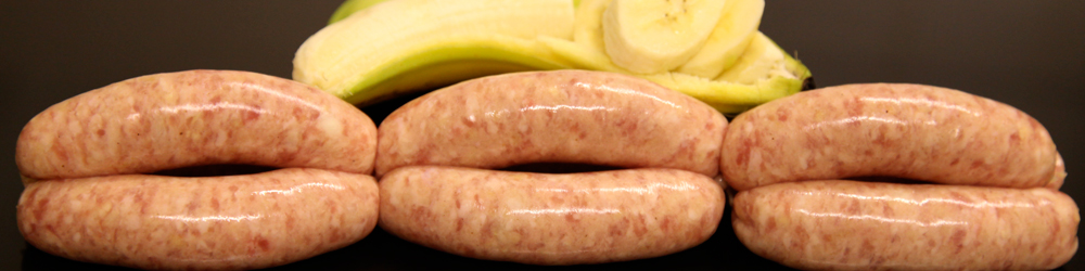McCartney's Pork & Banana Sausages