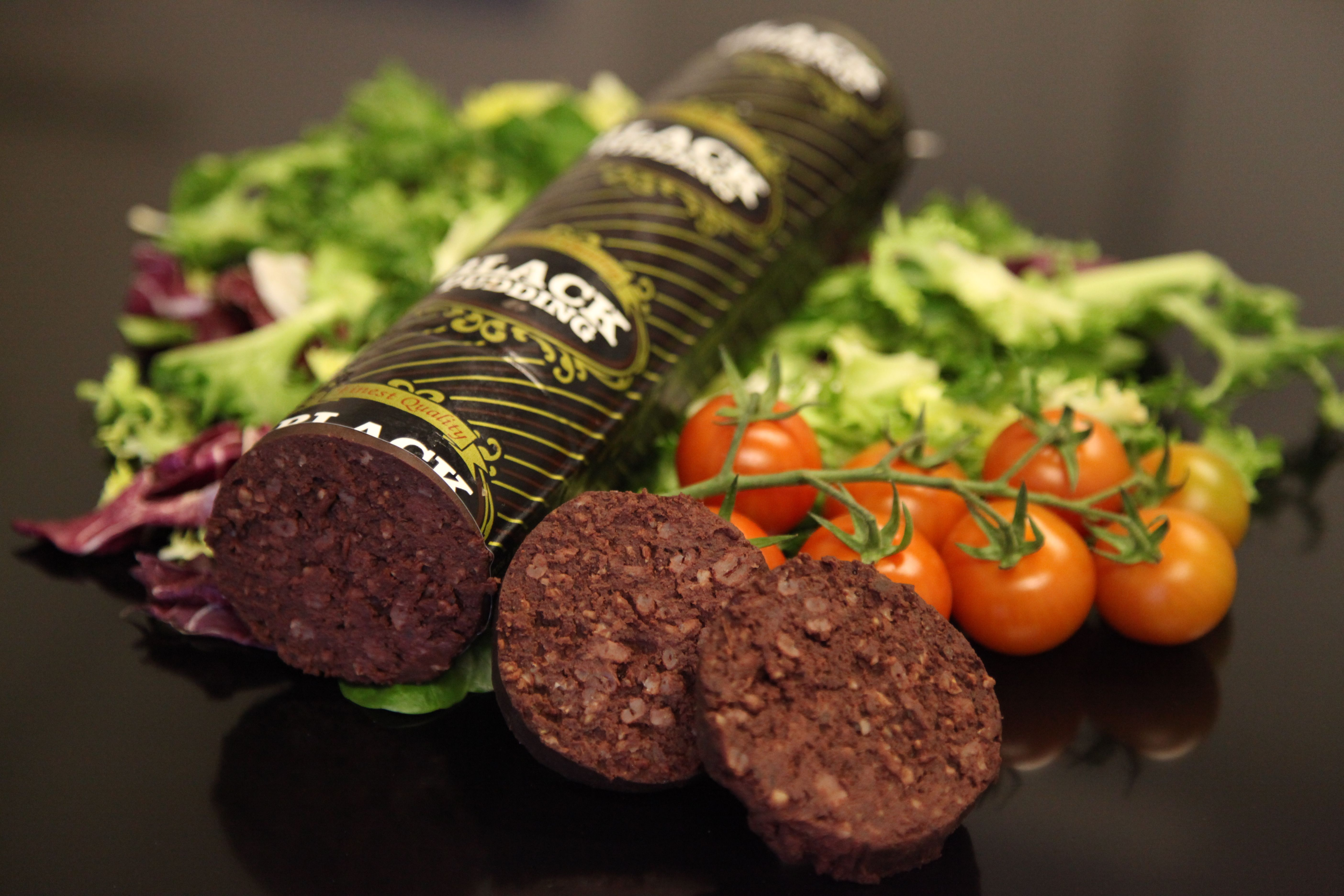 Black Pudding made by McCartney's