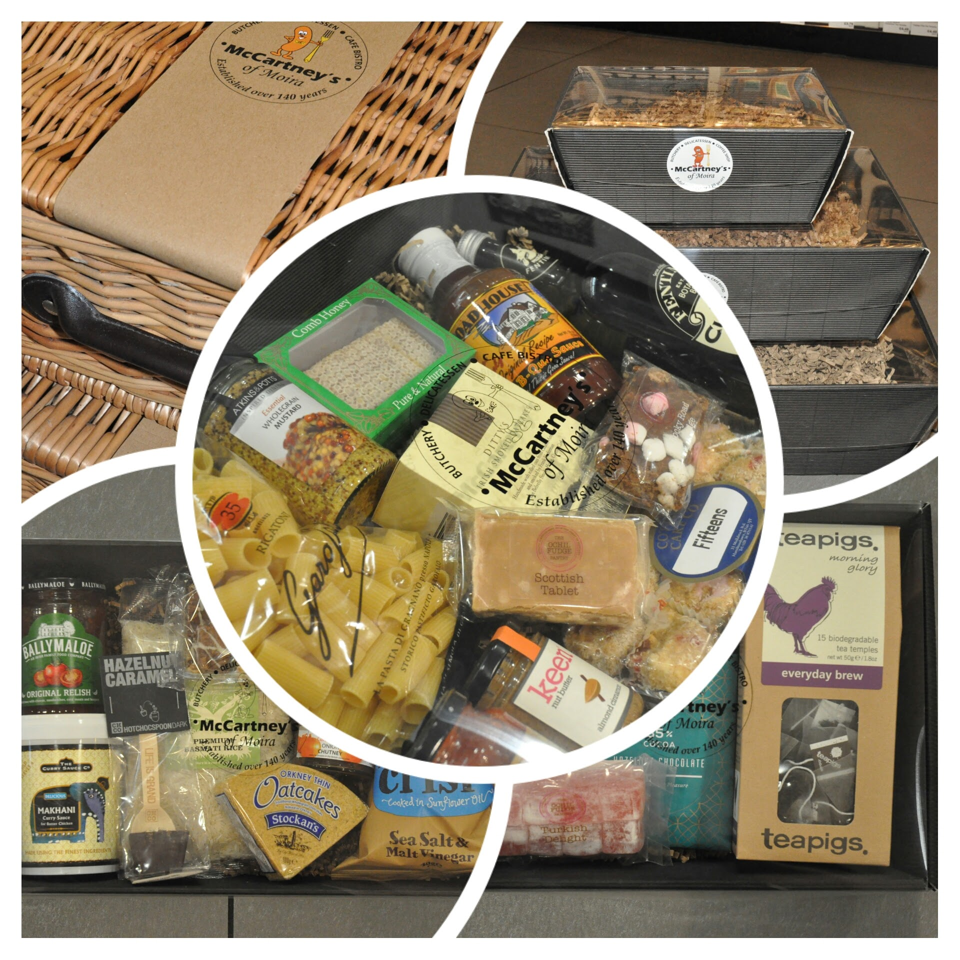 Bespoke Hampers from McCartney's of Moira