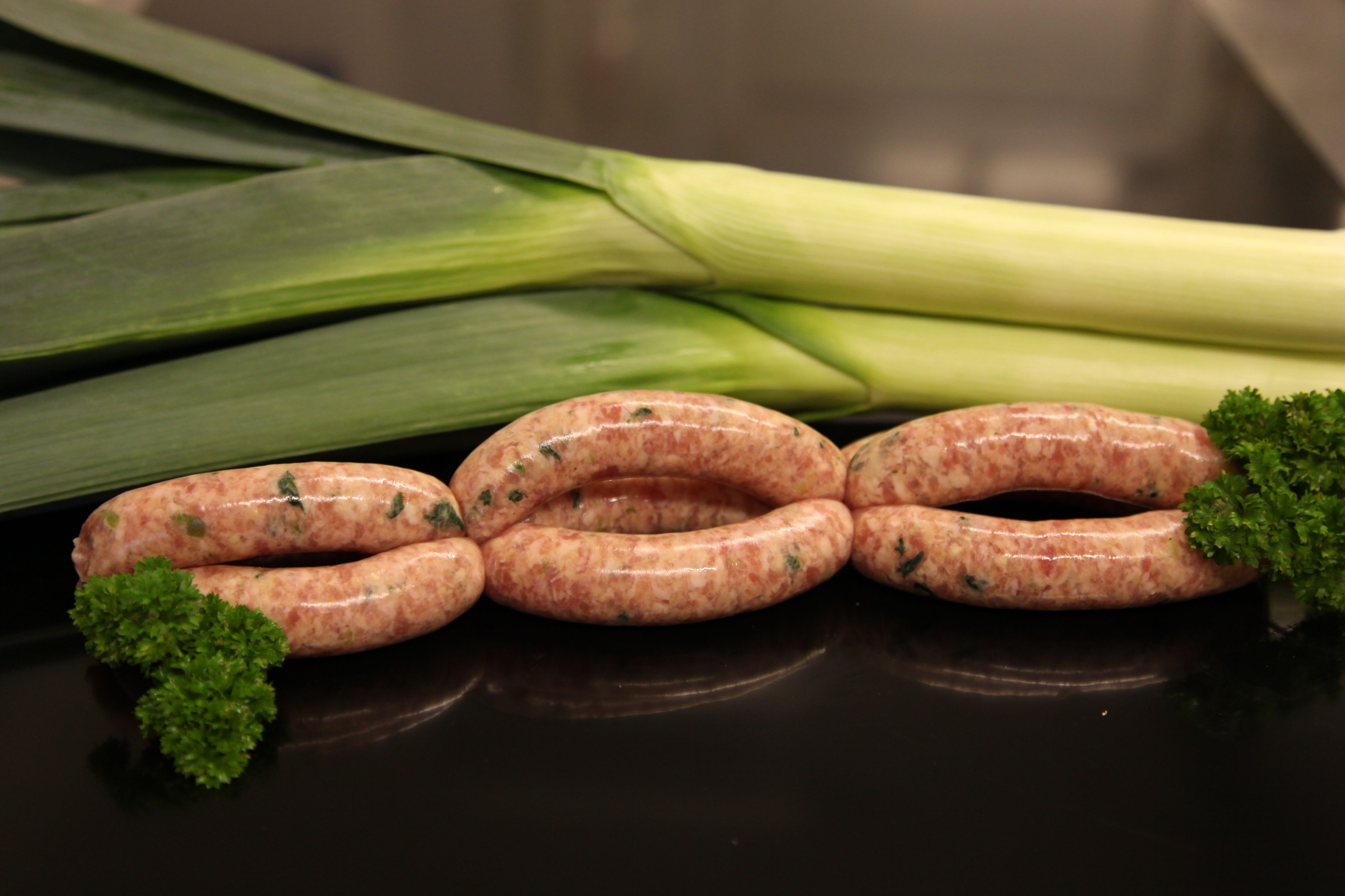 Pork & Leek Sausages