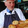 George with his freshly baked pies