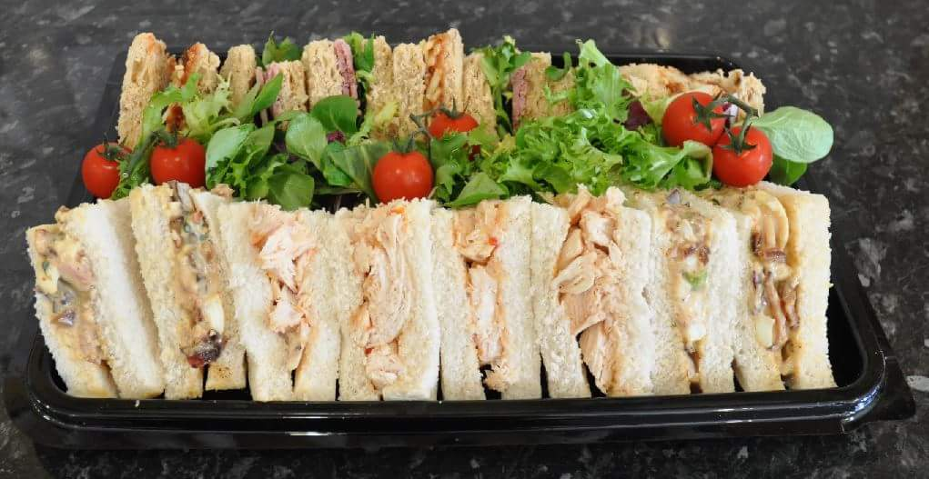 Sandwich Platters available to order