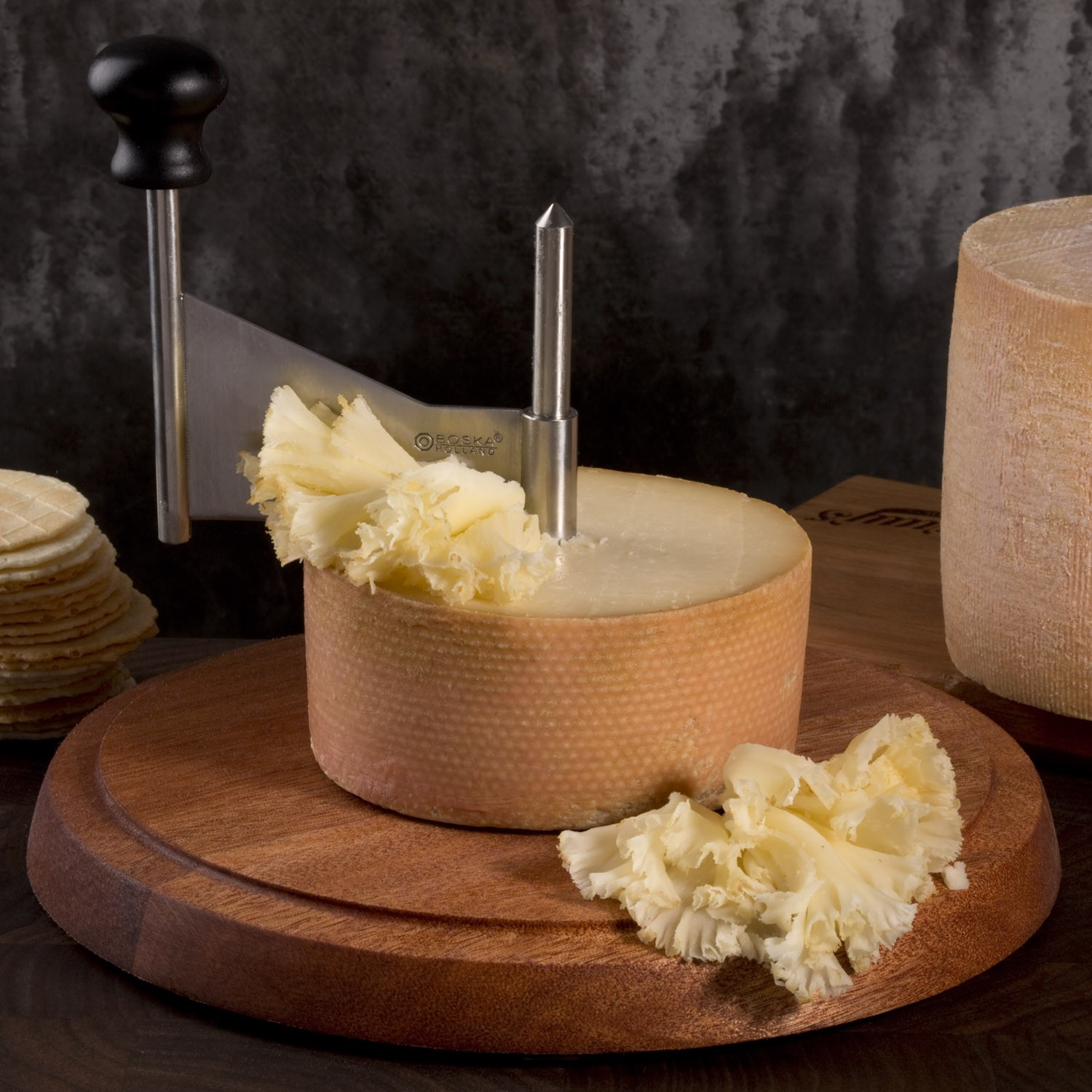 Tete de Moine 'Monk's Head' Cheese