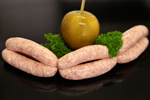 Toffee Apple Flavour Pork Sausages available from McCartney's of Moira